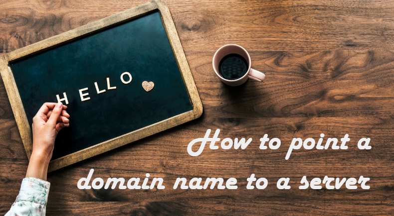 how to point a domain name to a server