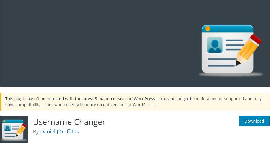 Username changer plugin