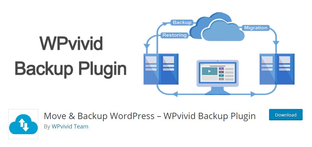 WPvivid backup plugin - the rising star in WordPress backup industry