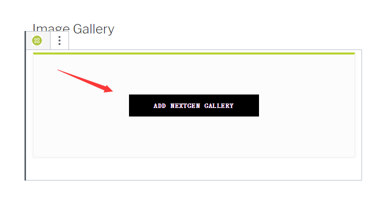 Add NextGen Gallery button