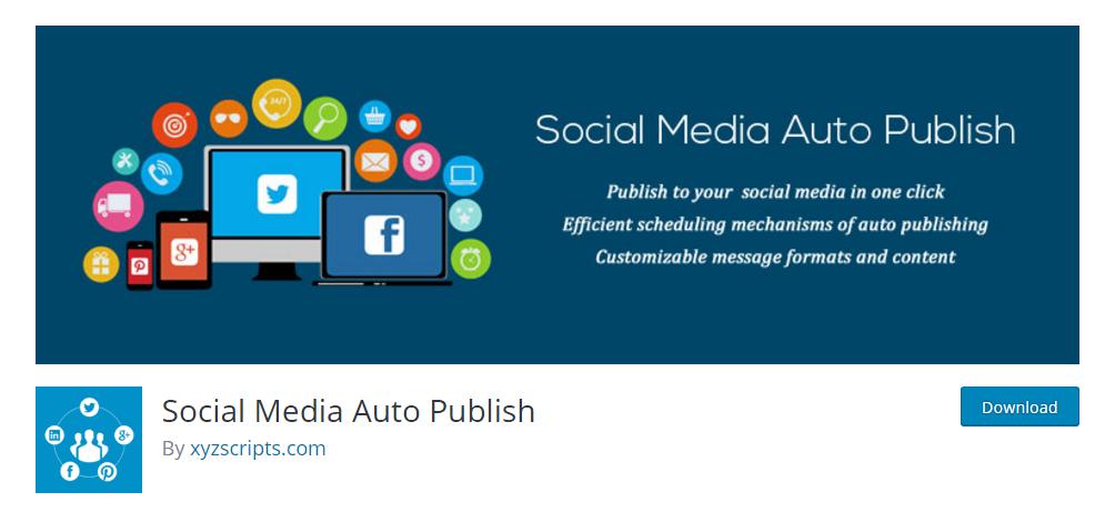 Social Media Auto Publish plugin