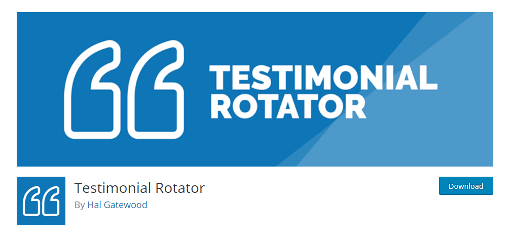 Testimonial Rotator - best testimonial plugin