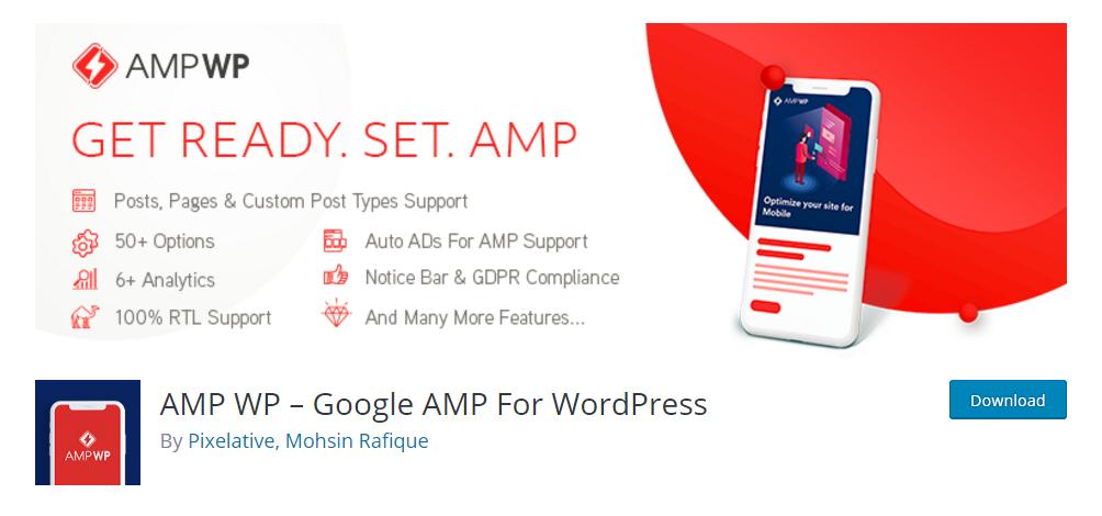 AMP WP - Google AMP For WordPress