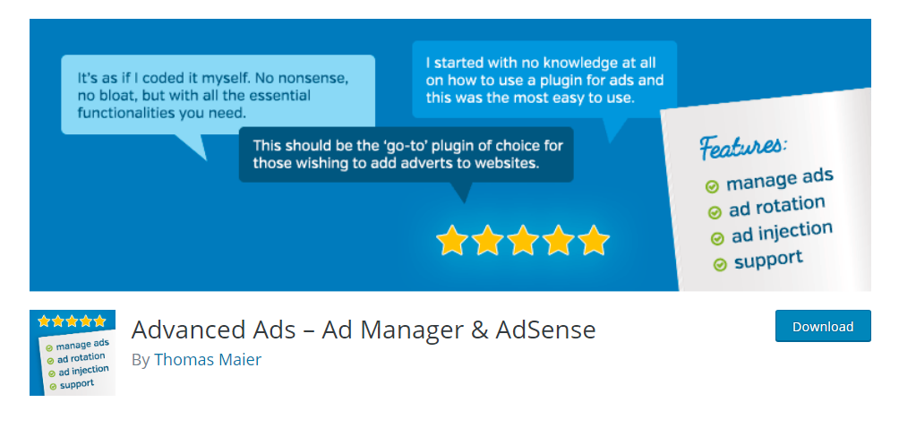 Advanced Ads - WordPress ad management plugin