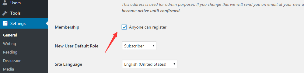 Allow anyone to register forum