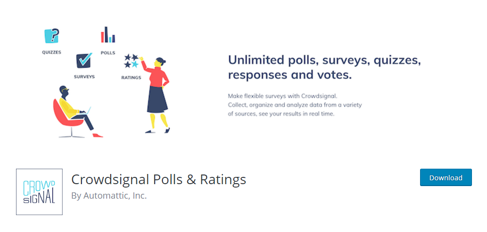 Crowdsignal Polls & Ratings - Poll plugin