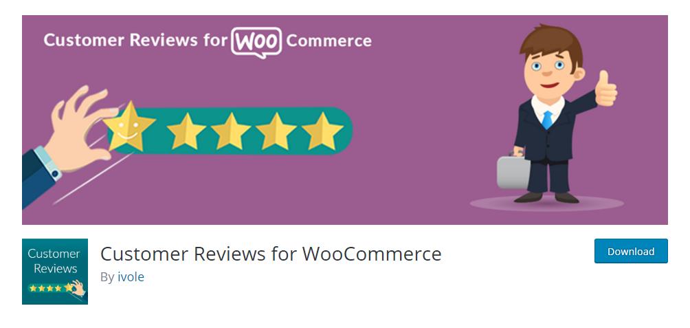 Customer Review for WooCommerce - WordPress review plugin