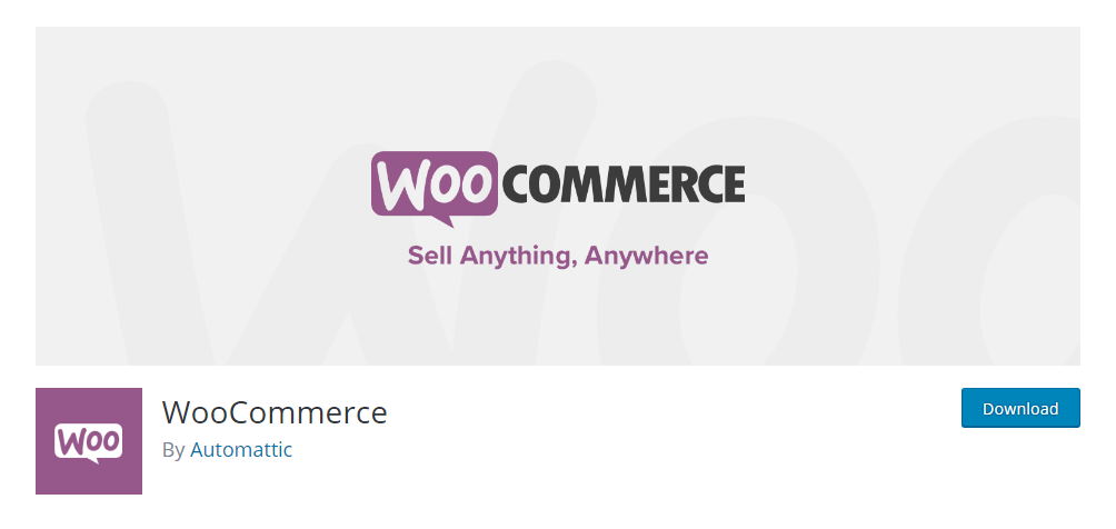 WooCommerce - the most popular WordPress eCommerec plugin