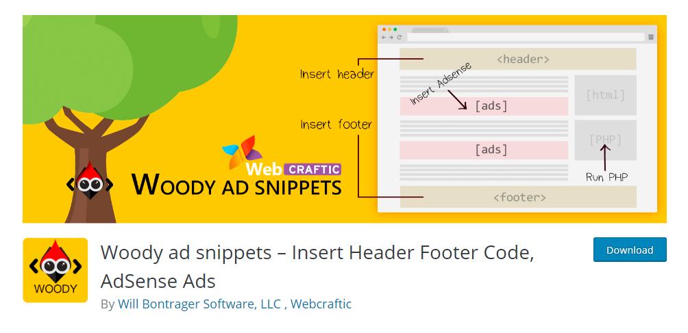Woody ad snippets - WordPress ad management plugin