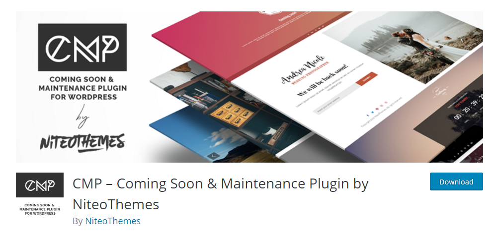 CMP - Coming Soon & Maintenance Plugin by Niteo Themes