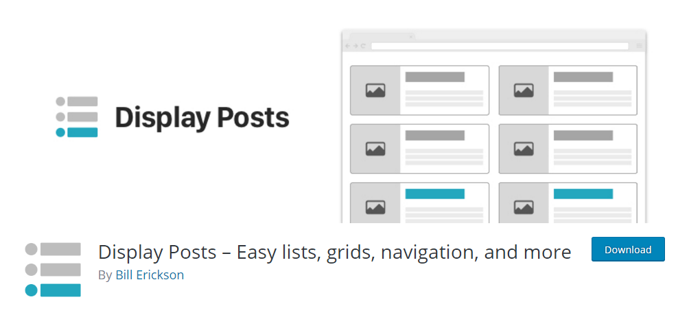 Display Posts plugin