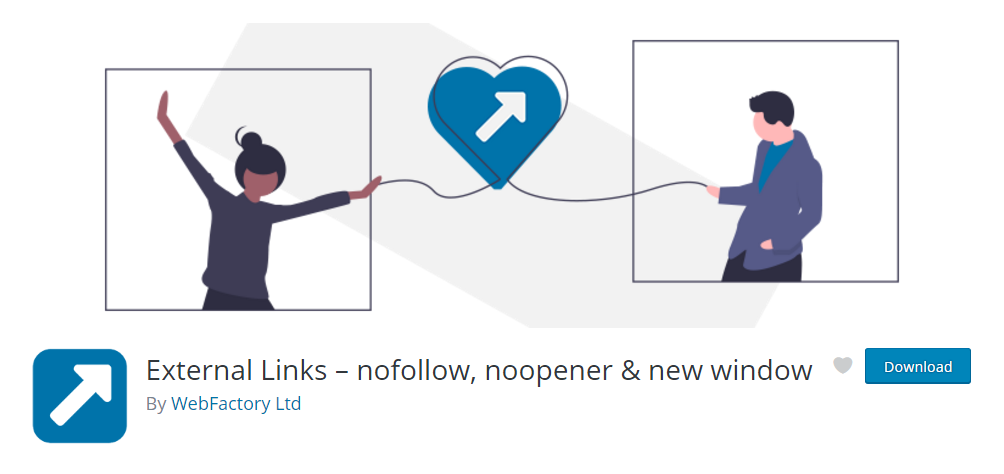 External Links - WordPress nofollow link plugin