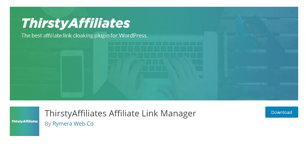 ThirstyAffiliates - affiliate link plugin