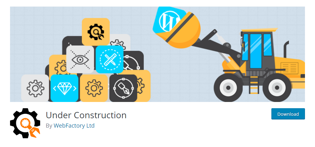 Under Construction - Under construction and coming soon plugin