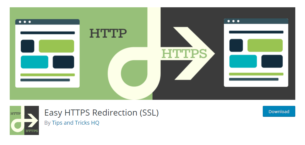 Easy HTTPS Redirection (SSL) - WordPress SSL plugin