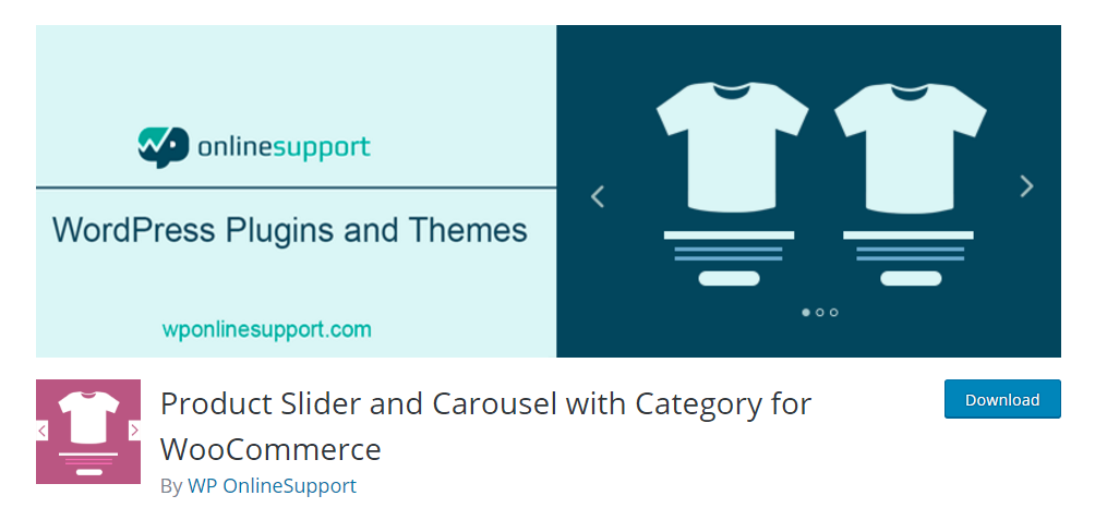 Product Slider and Carousel with Category for WooCommerce - WordPress category plugin