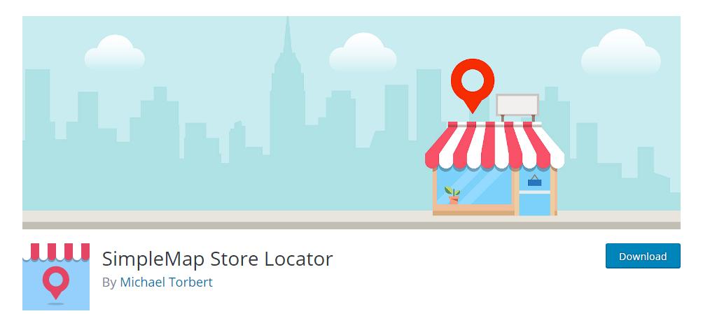 SimpleMap Store Locator