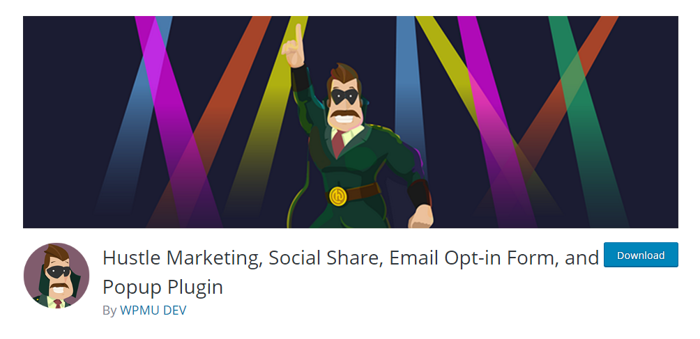 Hustle Marketing, Social Share, Email Op-in Form, and Popup Plugin
