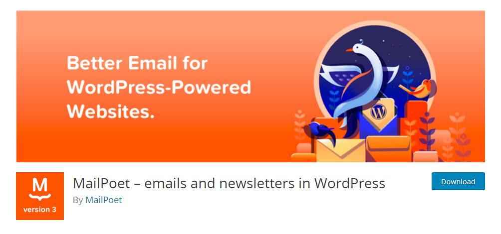 MailPoet - emails and newsletters in WordPress
