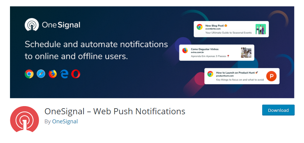 OneSignal - Web Push Notifications