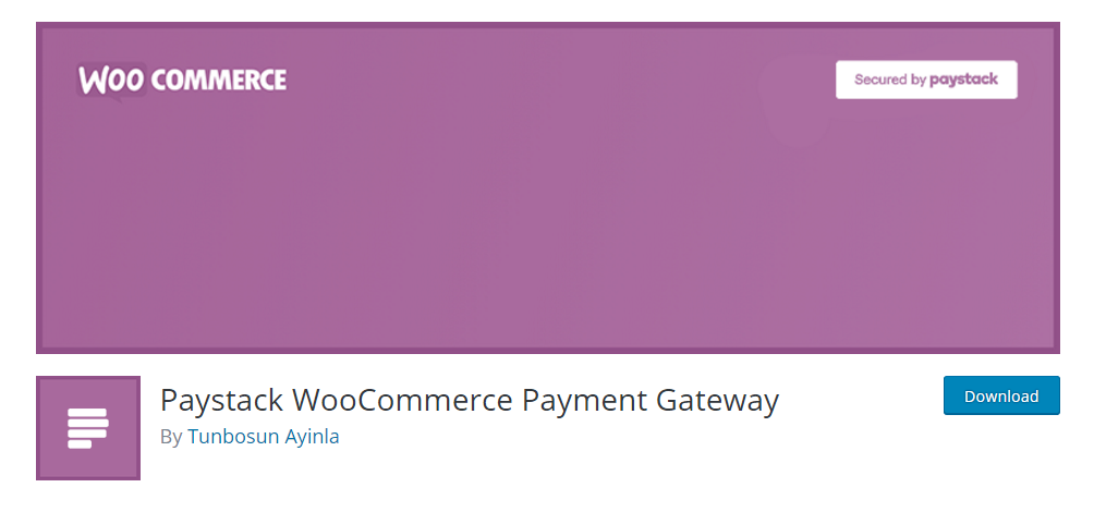 Paystack WooCommerce Payment Gateway
