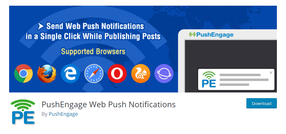 PushEngage Web Push Notifications