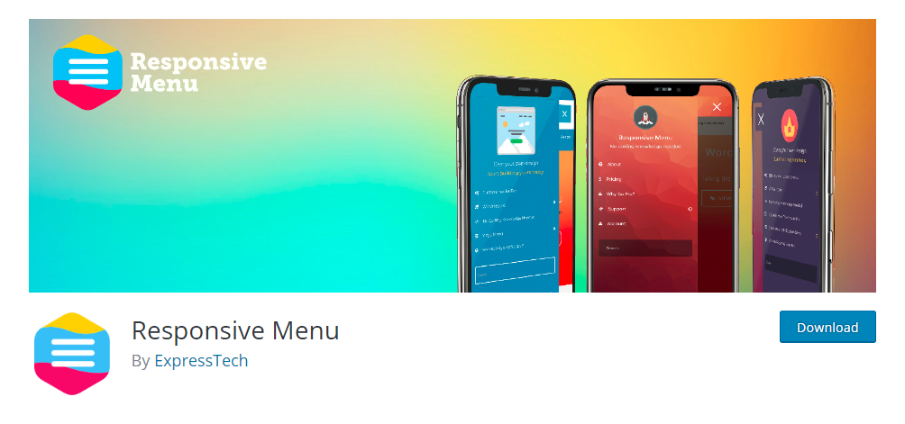 Responsive Menu - Mobile-friendly WordPress menu plugin