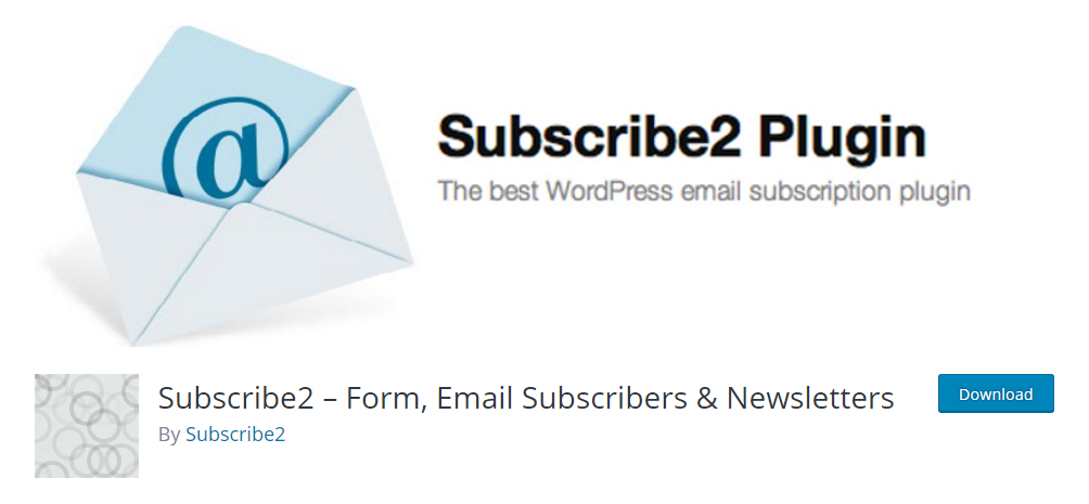 Subscribe2 - From, Email Subscribers & Newsletters