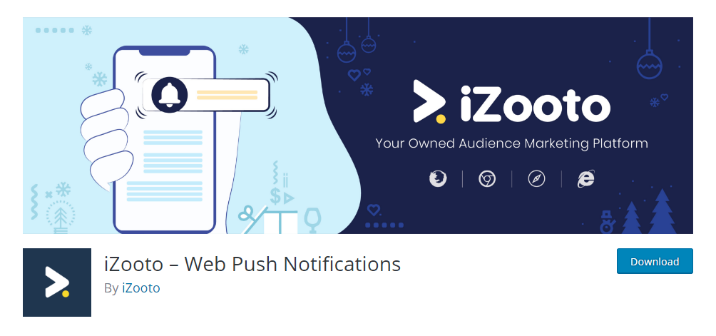 iZooto - Web Push Notifications