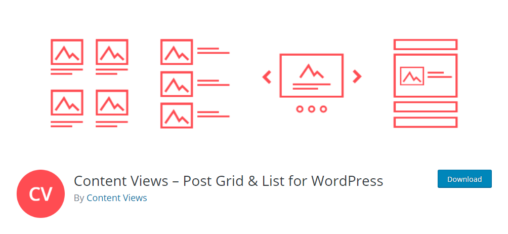 Content Views - Post Grid & List for WordPress