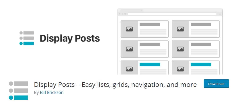 Display Posts