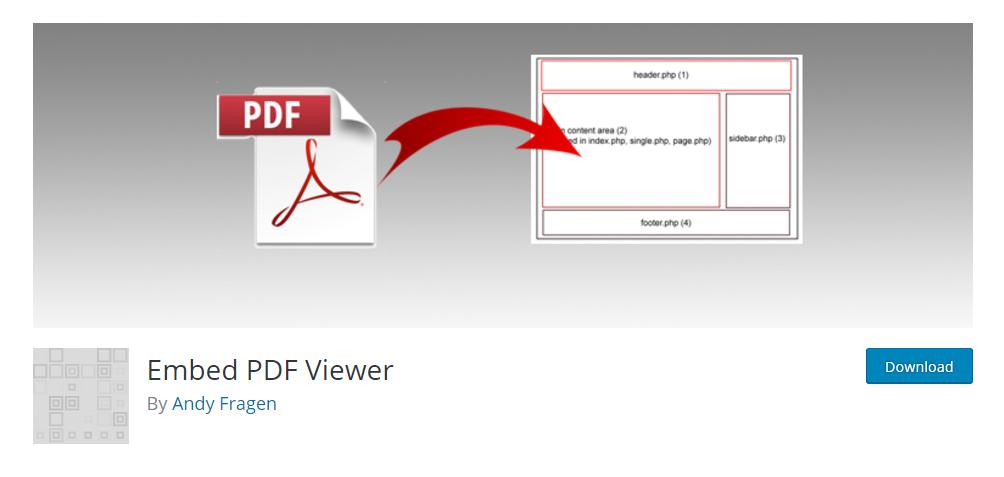 Embed PDF Viewer