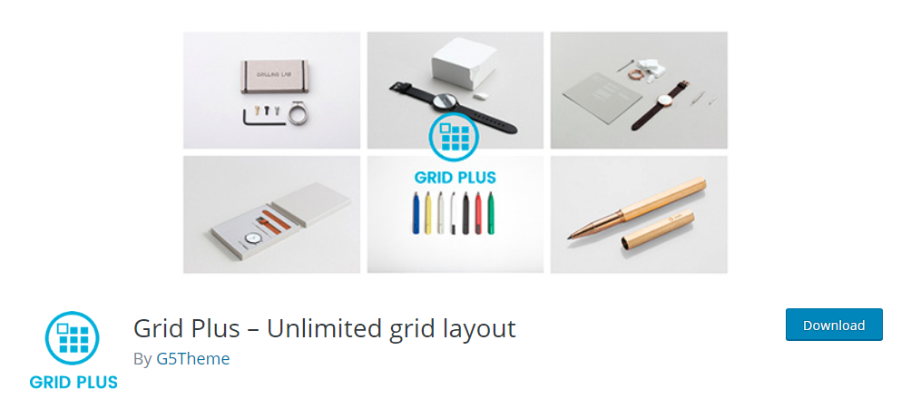 Grid Plus - Unlimited grid layout