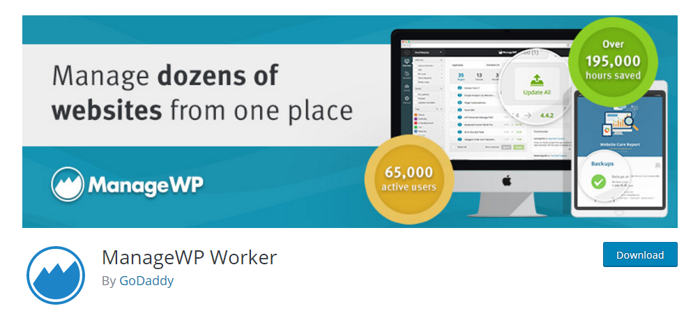ManageWP Worker - Manage dozens of WordPress websites from one place