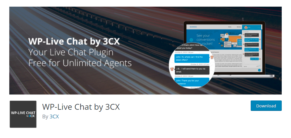 WP-Live Chat by 3CX