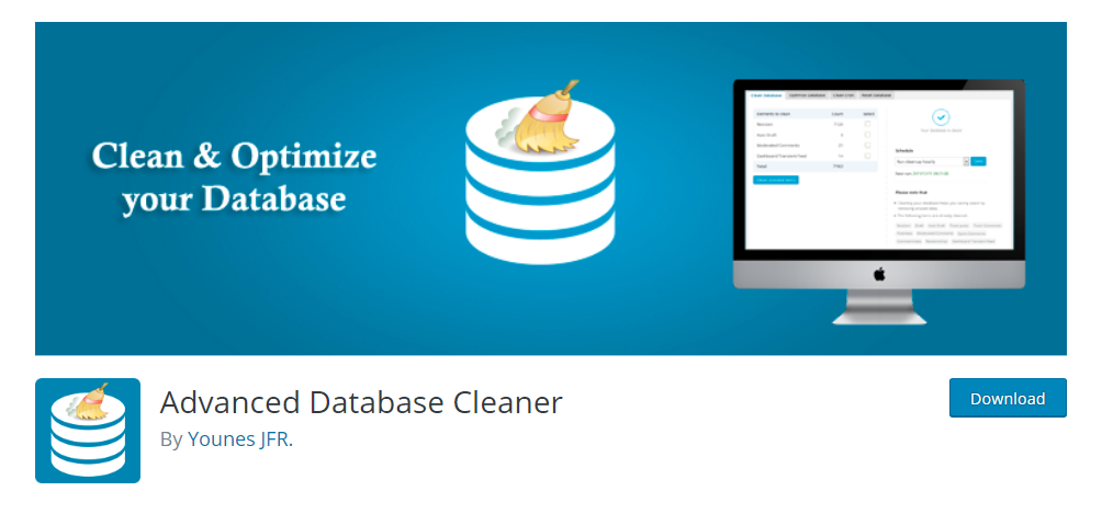 Advanced Database Cleaner