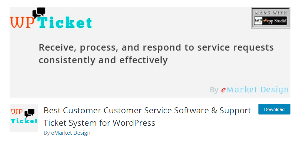 WP Ticket - Best Customer Service Software & Support Ticket System for WordPress
