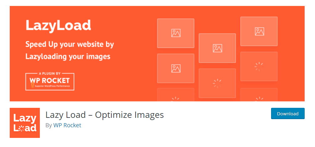 Lazy Load - Optimize Images