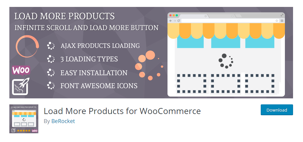 Load More Product for WooCommerce
