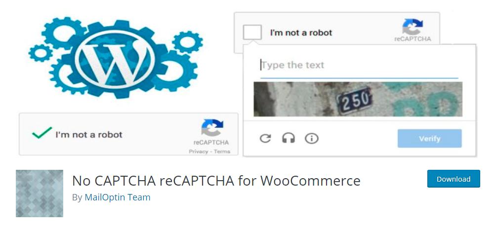 No CAPTCHA reCAPTCHA for WooCommerce