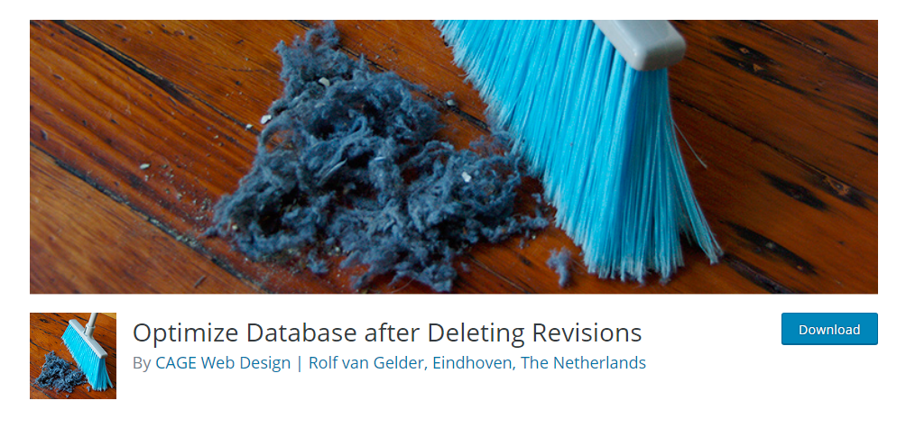 Optimize Database after Deleting Revisions