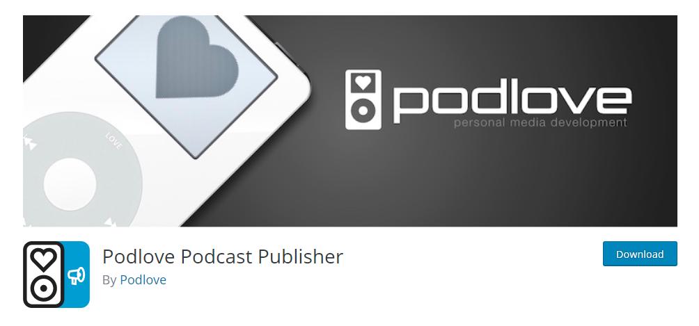 Podlove Podcast Publisher - WordPress podcast plugin