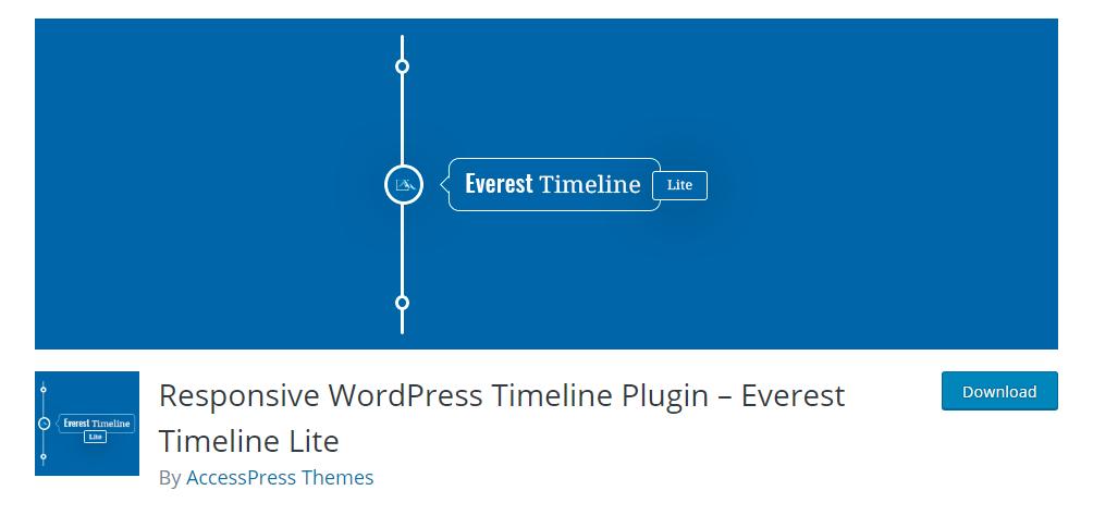 Everest Timeline Lite - Responsive WordPress Timeline Plugin