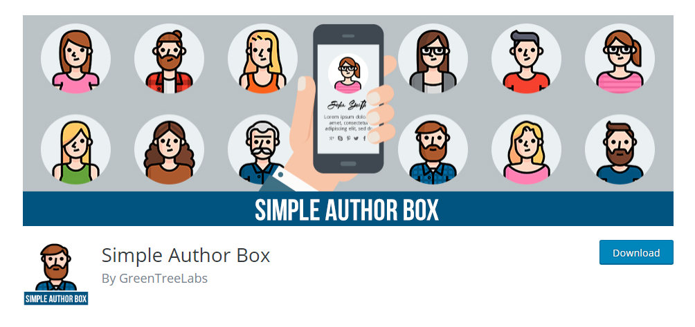 Simple Author Box - Author box plugin