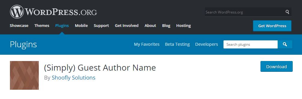 Simply Guest Author Name