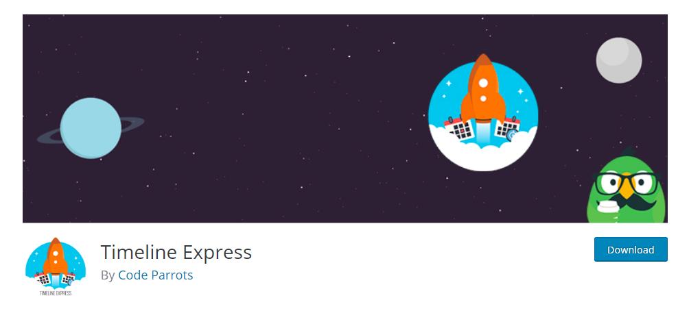 Timeline Express - WordPress timeline plugin
