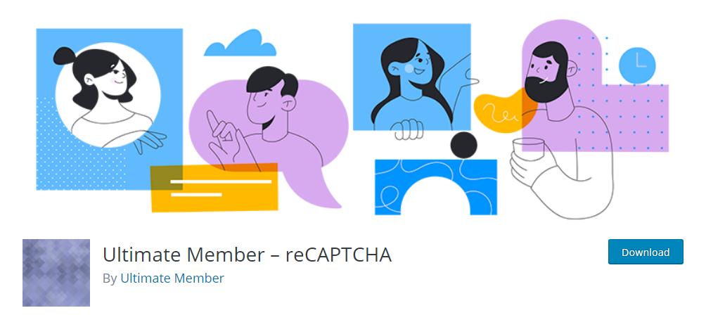 Ultimate Member - reCAPTCHA