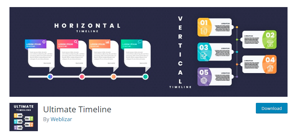 Ultimate Timeline - WordPress timeline plugin
