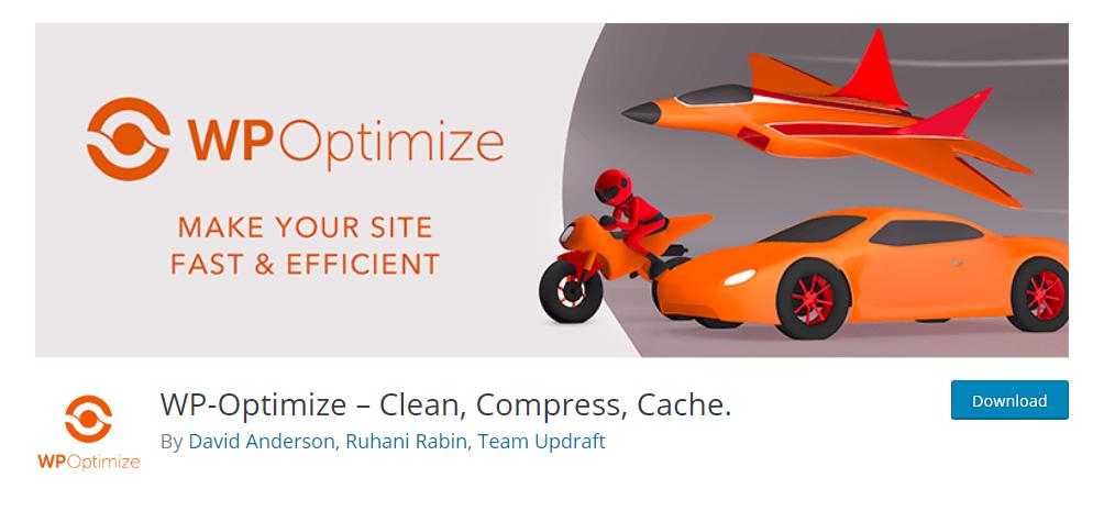 WP-Optimize - WordPress database plugin