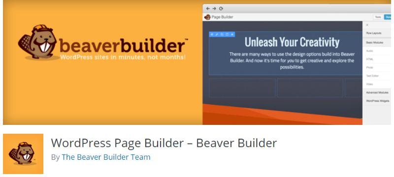 WordPress Page Builder - Beaver Builder